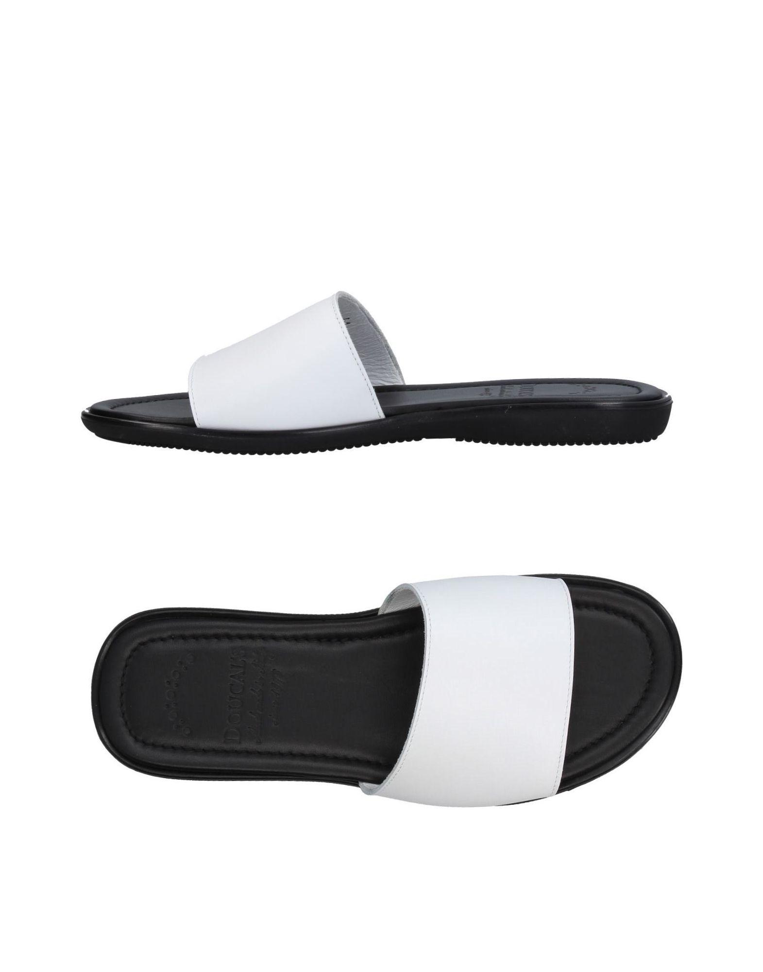 DOUCAL´S Herren Sandale Farbe Weiß Größe 9 jetztbilligerkaufen