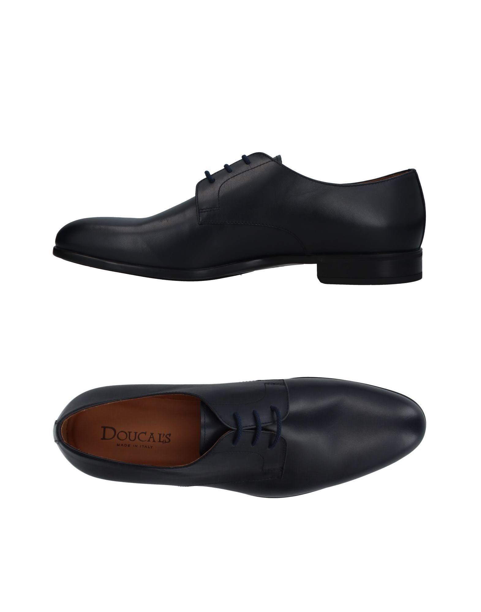 DOUCAL´S Herren Schnürschuh Farbe Dunkelblau Größe 9 jetztbilligerkaufen