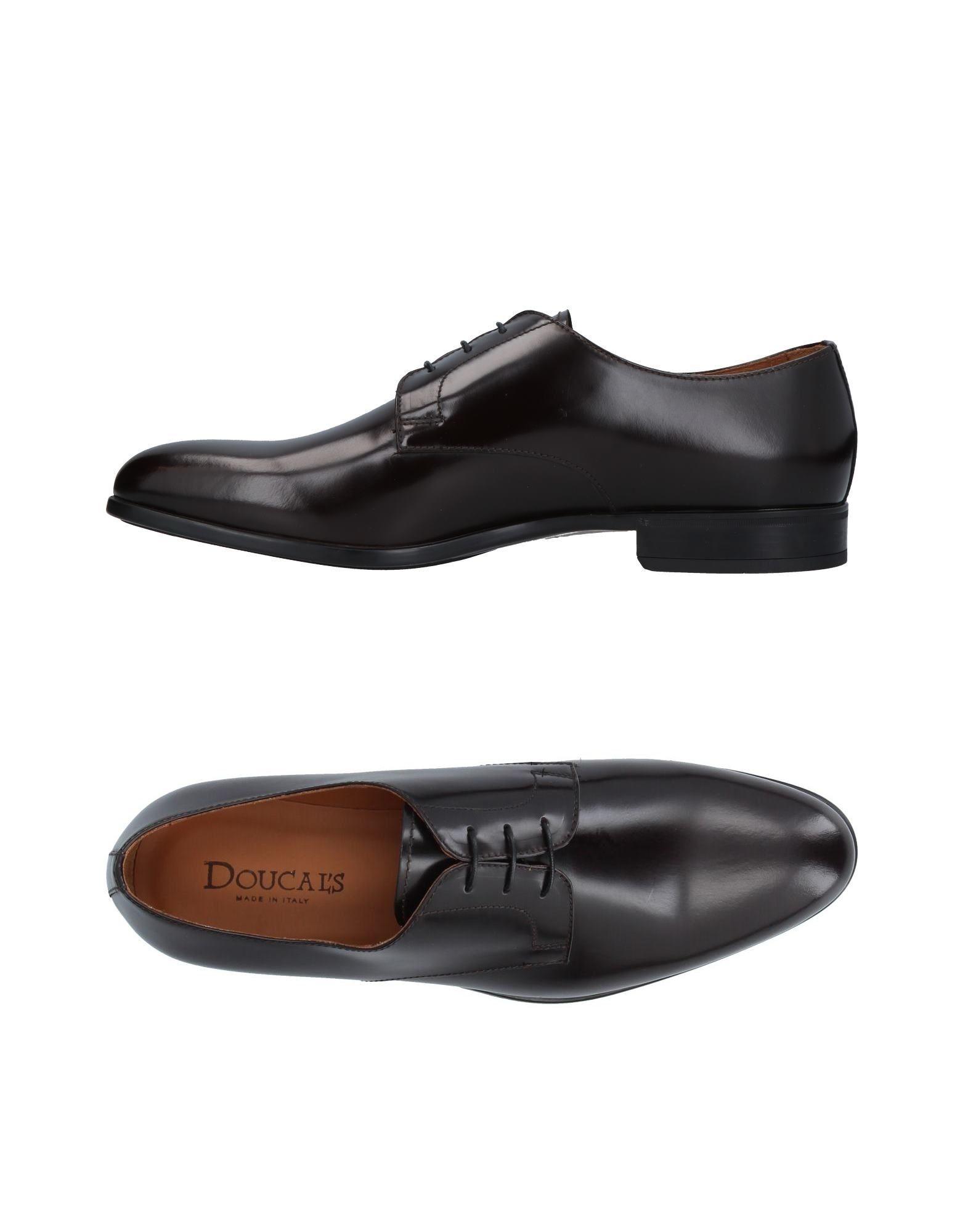 DOUCAL´S Herren Schnürschuh Farbe Dunkelbraun Größe 9 jetztbilligerkaufen