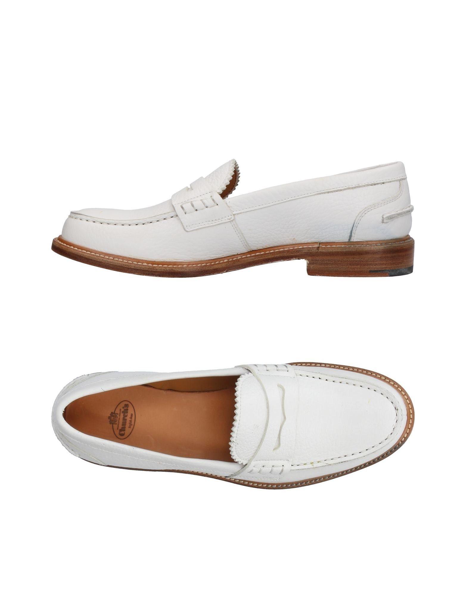 CHURCH´S Damen Mokassin Farbe Weiß Größe 9 jetztbilligerkaufen