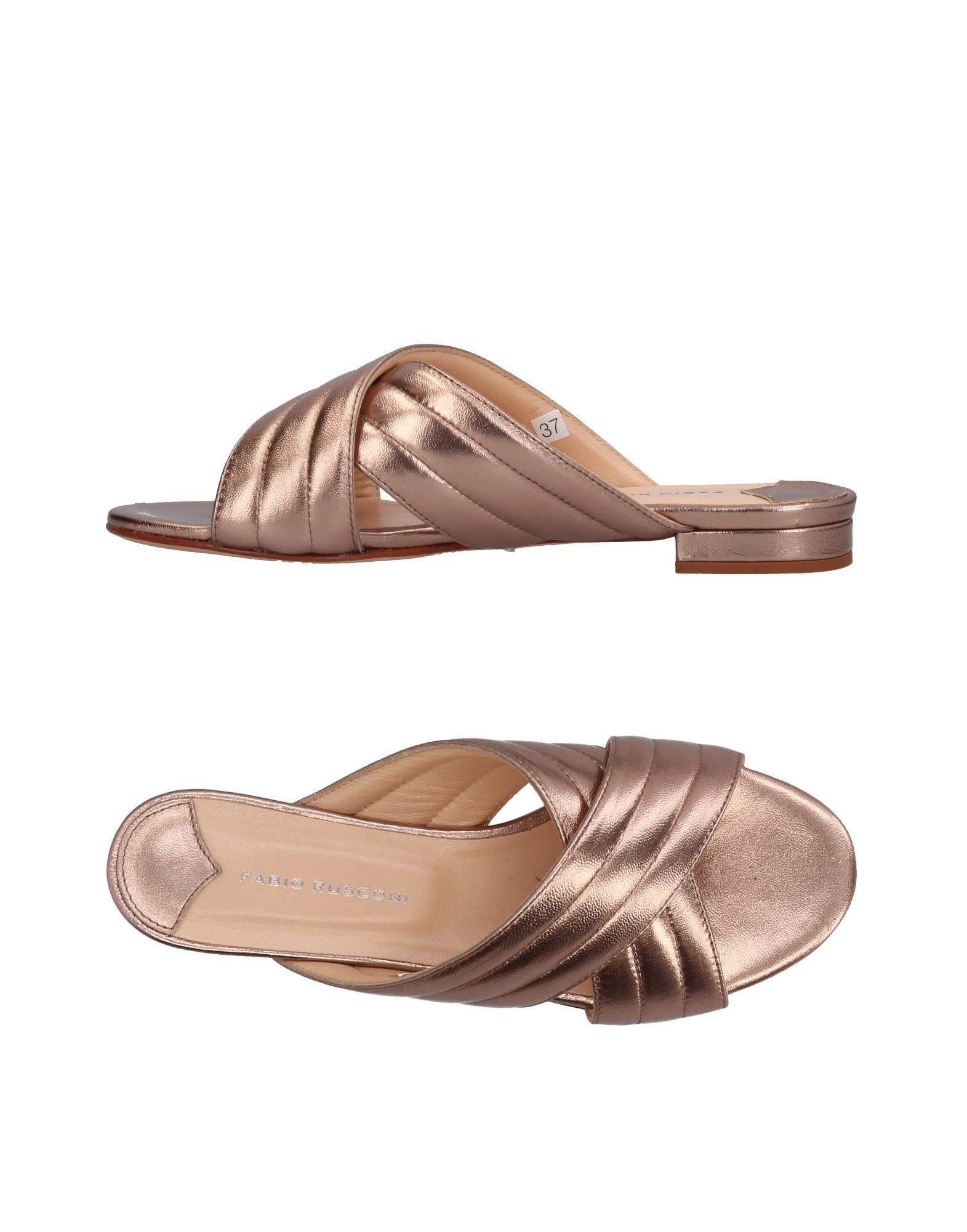 FABIO RUSCONI Damen Sandale Farbe Kupfer Größe 7 jetztbilligerkaufen