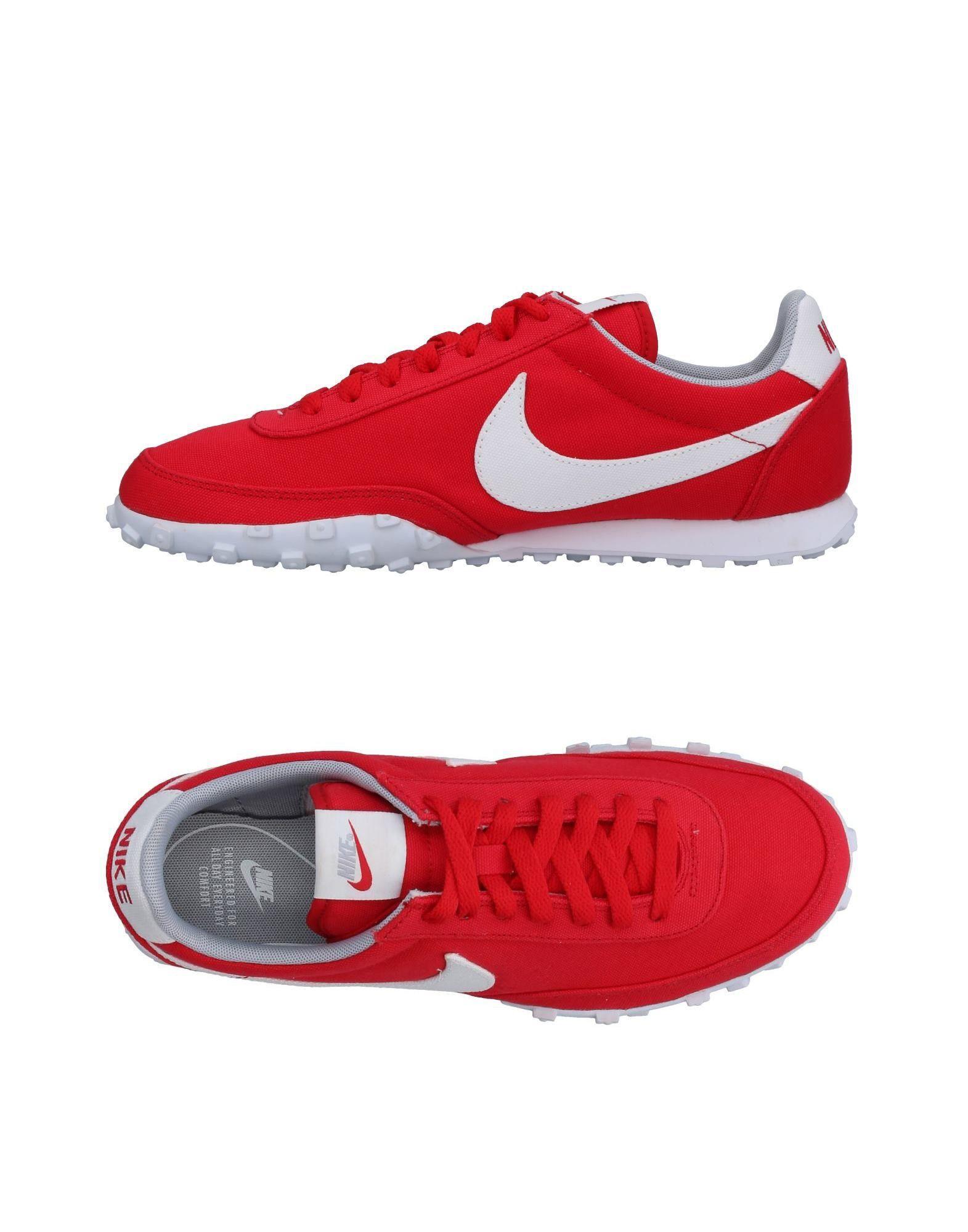 NIKE Herren Low Sneakers & Tennisschuhe Farbe Rot Größe 9 jetztbilligerkaufen