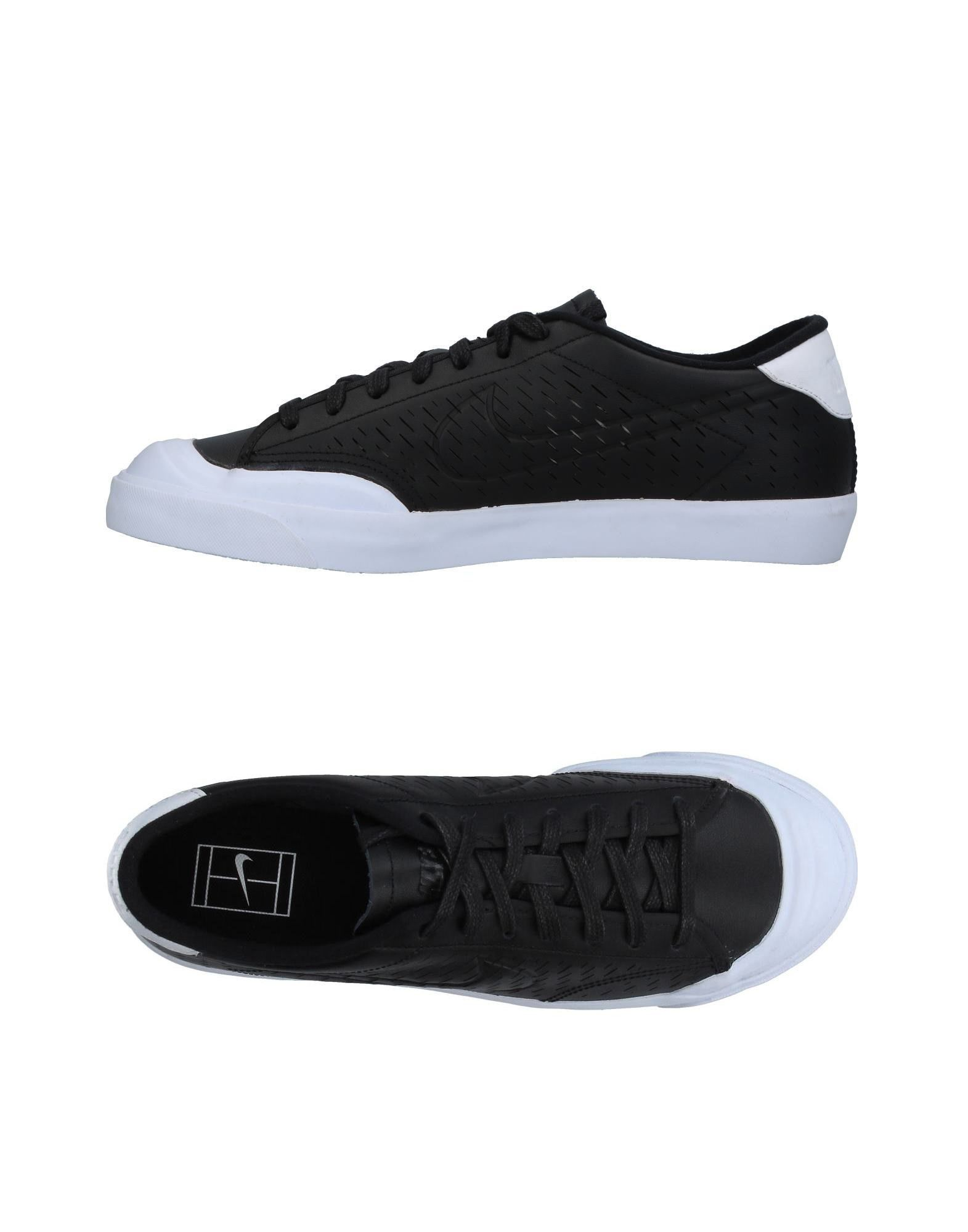NIKE Herren Low Sneakers & Tennisschuhe Farbe Schwarz Größe 9 jetztbilligerkaufen