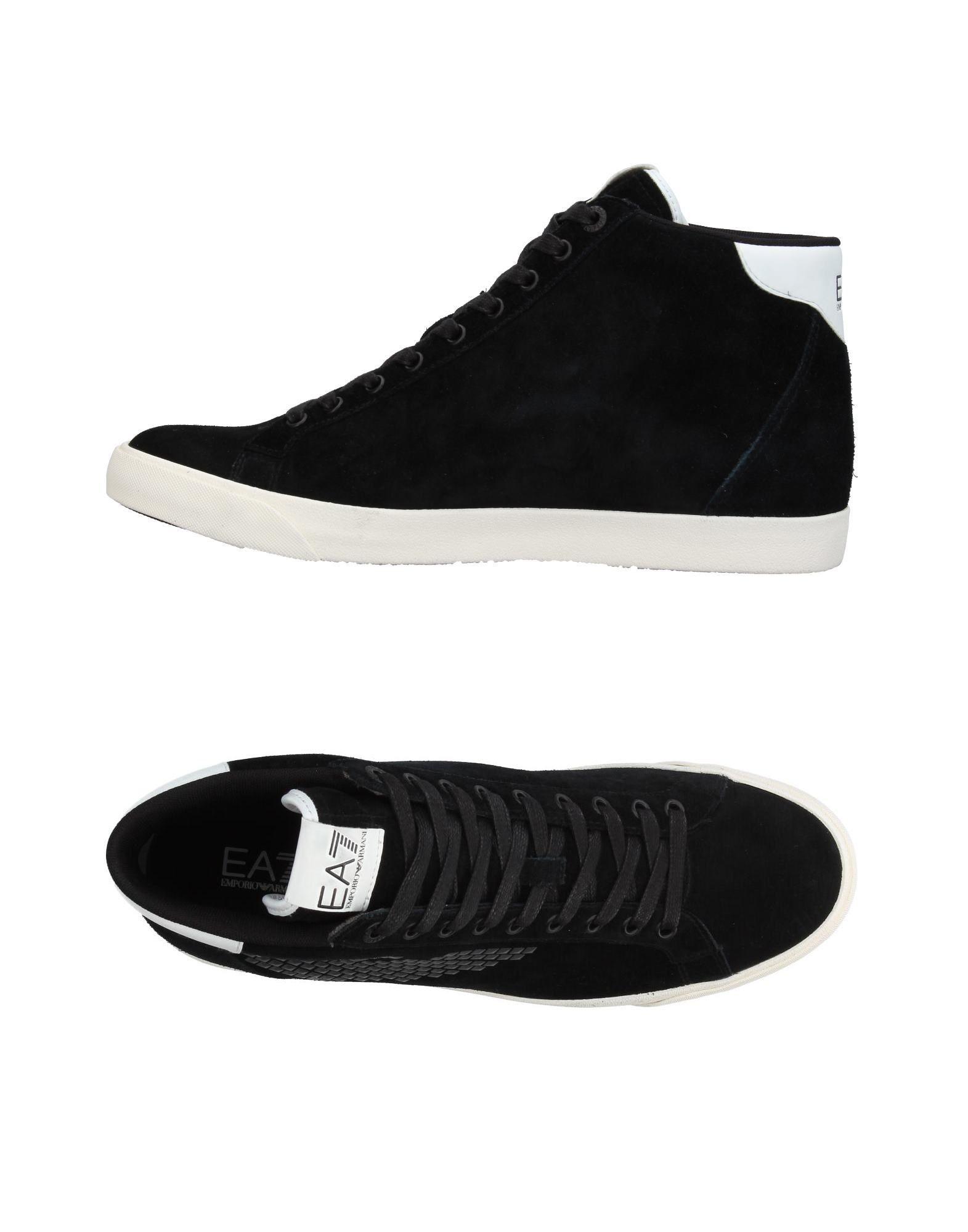 EA7 Herren High Sneakers & Tennisschuhe Farbe Schwarz Größe 13 jetztbilligerkaufen