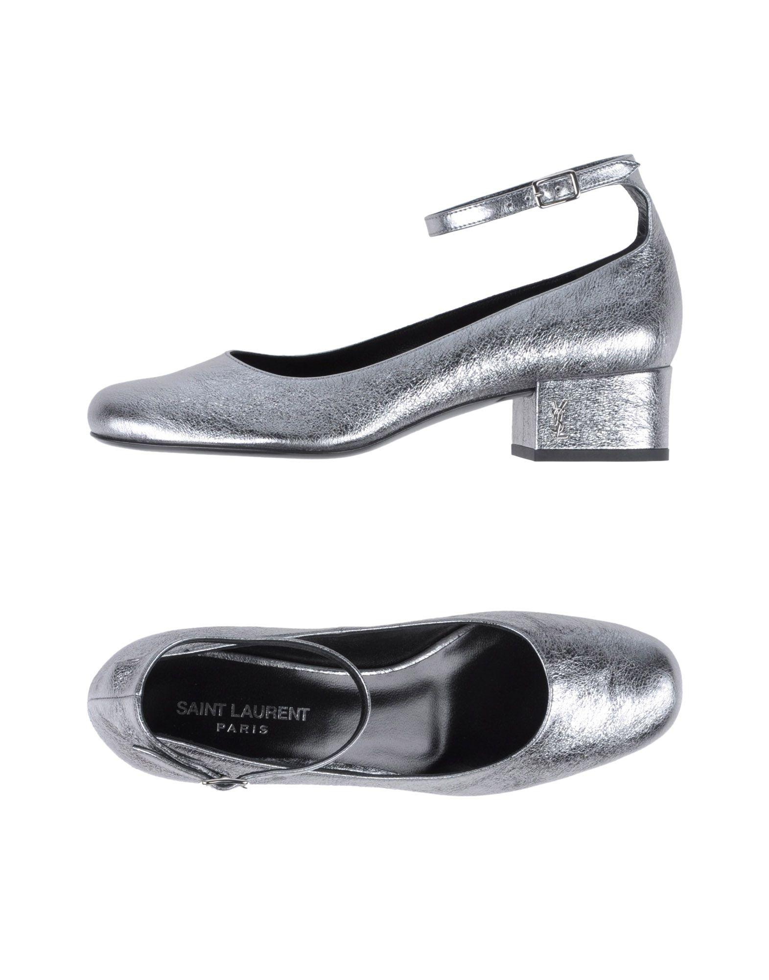 где купить SAINT LAURENT Туфли по лучшей цене