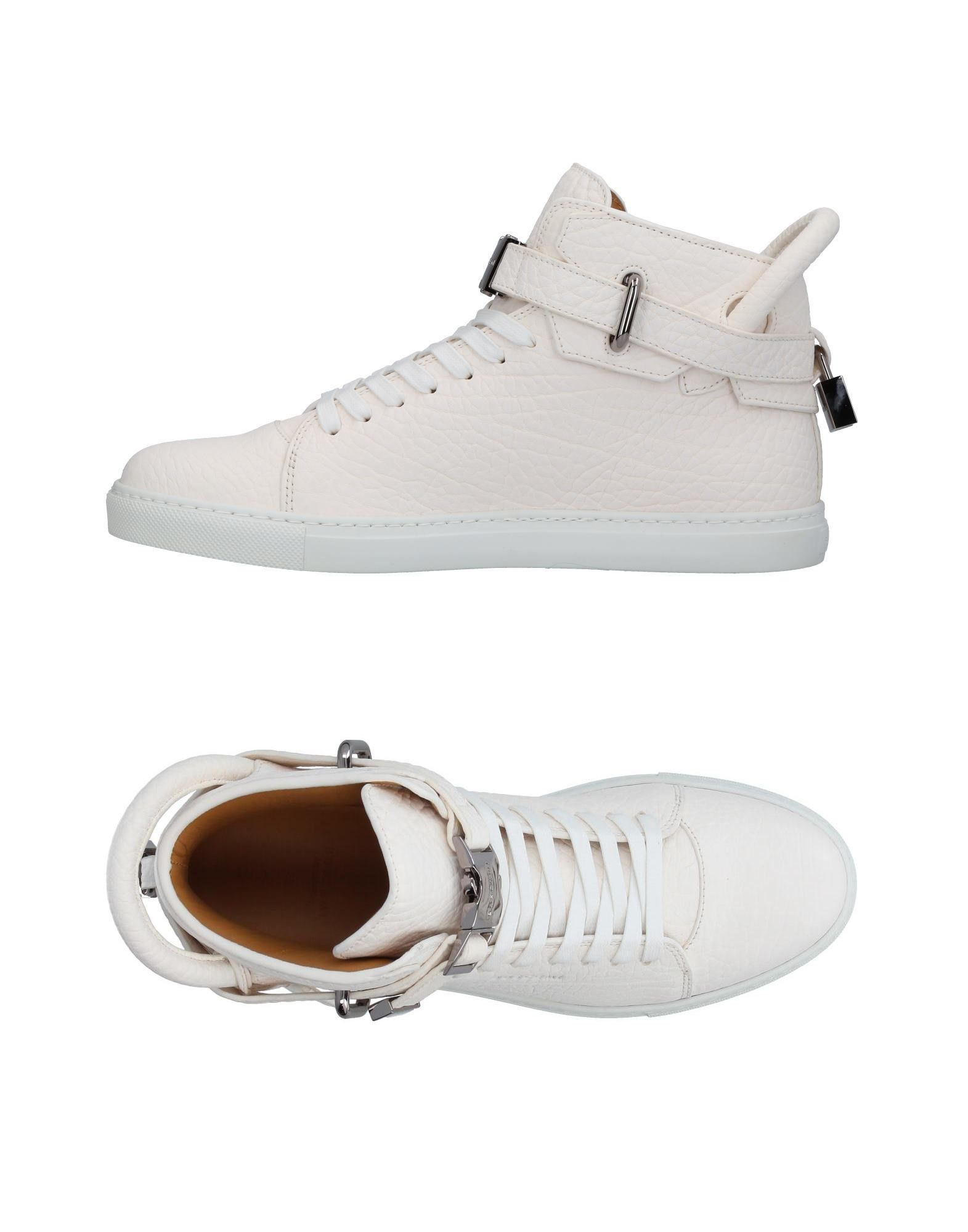 BUSCEMI Herren High Sneakers & Tennisschuhe Farbe Elfenbein Größe 9 jetztbilligerkaufen