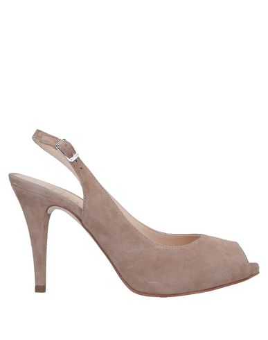 Фото - Женские сандали  светло-коричневого цвета