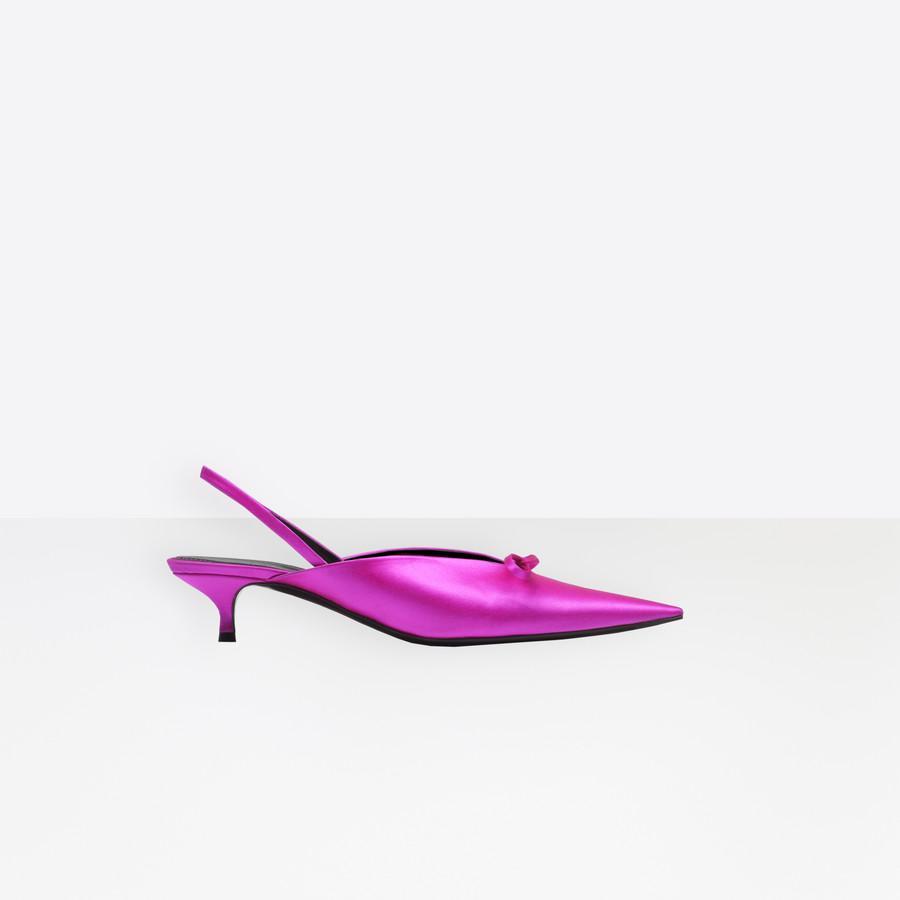 BALENCIAGA Sandalias abiertas Knife Knife Shoes Mujer f