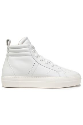 HELMUT LANG Hight-top leather sneakers