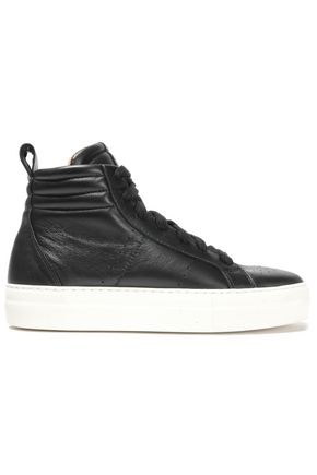 HELMUT LANG High-top leather sneakers