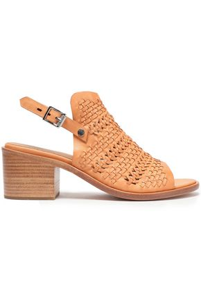 RAG & BONE Woven leather mules