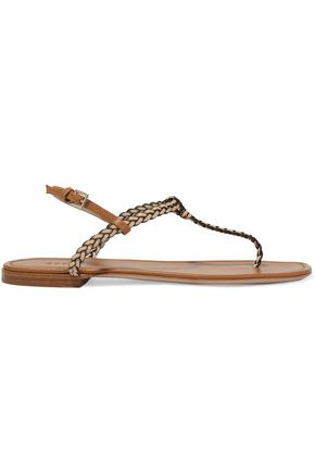 AERIN Braided leather sandals