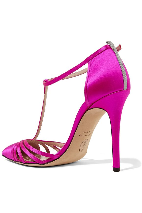 Carrie satin pumps | SJP by SARAH JESSICA PARKER | Sale up to 70% off | THE  OUTNET