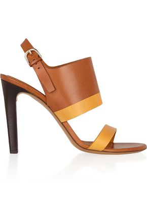 CHLOÉ Two-tone leather sandals