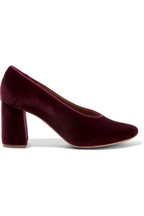 CHLOÉ Velvet pumps