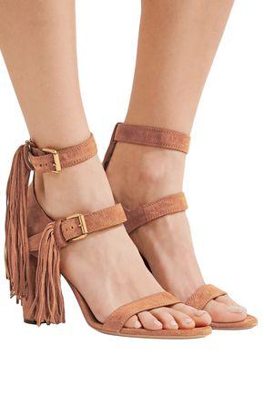 CHLOÉ Maya fringed suede sandals