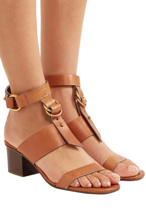 CHLOÉ Kingsley leather sandals