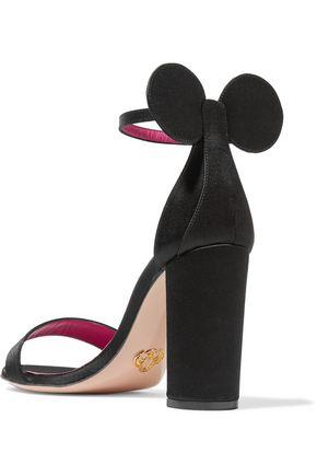 OSCAR TIYE Minnie satin sandals