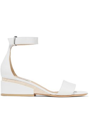 GABRIELA HEARST Sydney leather wedge sandals