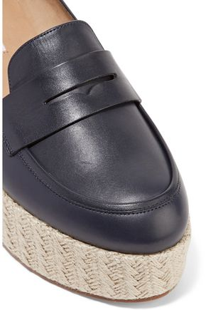 GABRIELA HEARST Brucco leather platform loafers