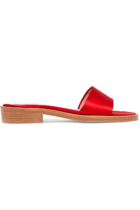 MR by MAN REPELLER Satin slides