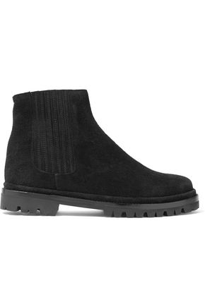 HELMUT LANG Suede ankle boots