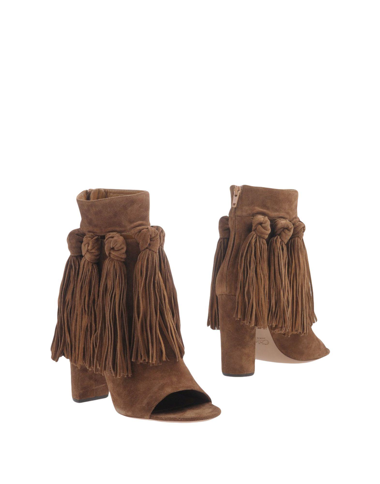 CHLOÉ Полусапоги и высокие ботинки chloé бермуды
