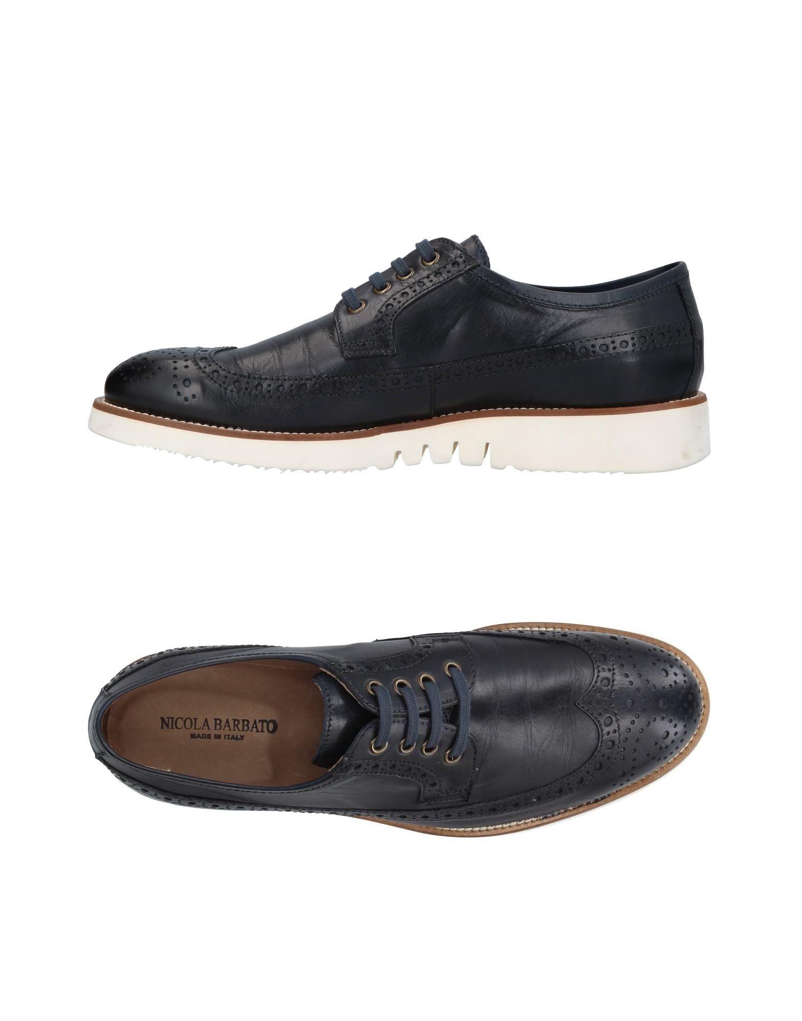NICOLA BARBATO Обувь на шнурках цены онлайн