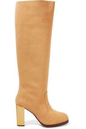 STELLA McCARTNEY Faux suede knee boots