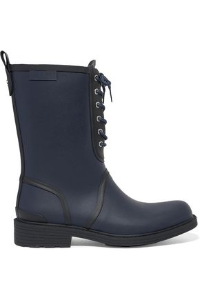 RAG & BONE Lace-up rubber boots