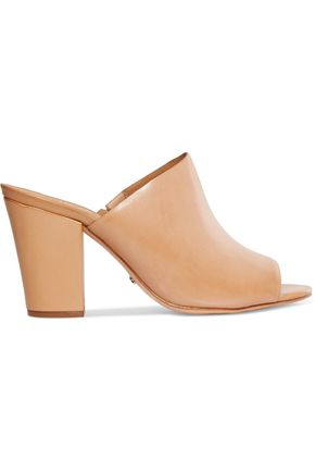SCHUTZ Leather mules
