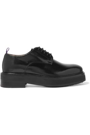 EYTYS Kingston glossed-leather brogues