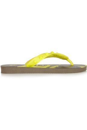 VALENTINO GARAVANI by HAVAIANAS Studded rubber flip flops