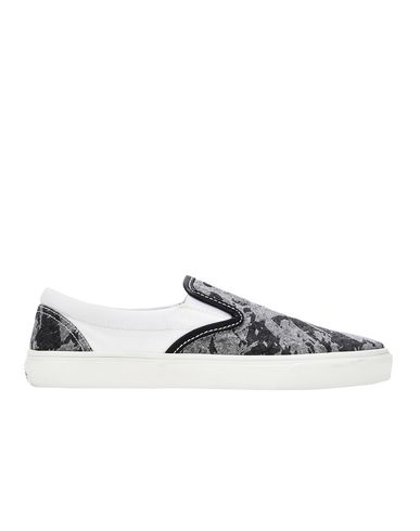 S0322 SLIP ON SHOES (DISCHARGE COTTON)