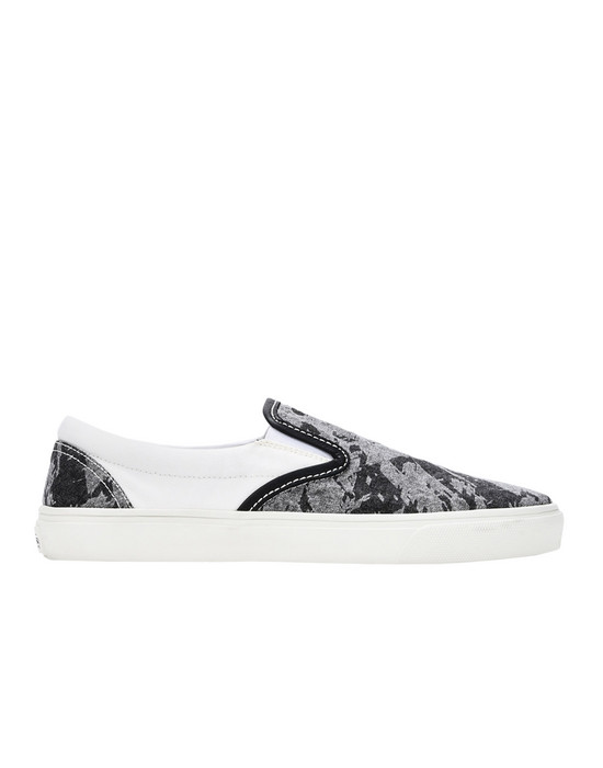 SHOE S0322 SLIP ON SHOES (DISCHARGE COTTON) STONE ISLAND SHADOW PROJECT - 0