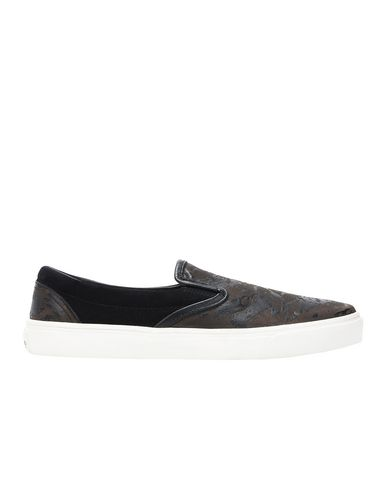 S0323 SLIP ON SHOES (LEDER/WILDLEDER MIT LASER-PRINT)