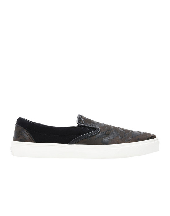 SCARPA S0323 SLIP ON SHOES (PELLE/SUEDE STAMPATA LASER) STONE ISLAND SHADOW PROJECT - 0