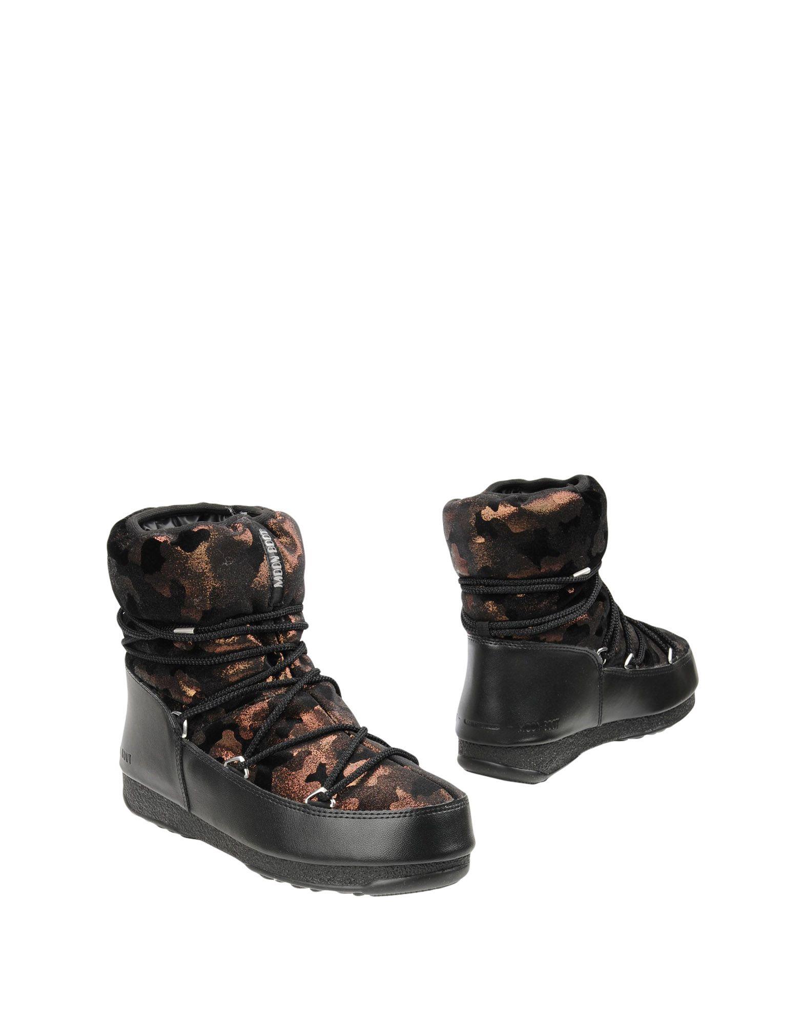 MOON BOOT Полусапоги и высокие ботинки moon boot лыжная одежда