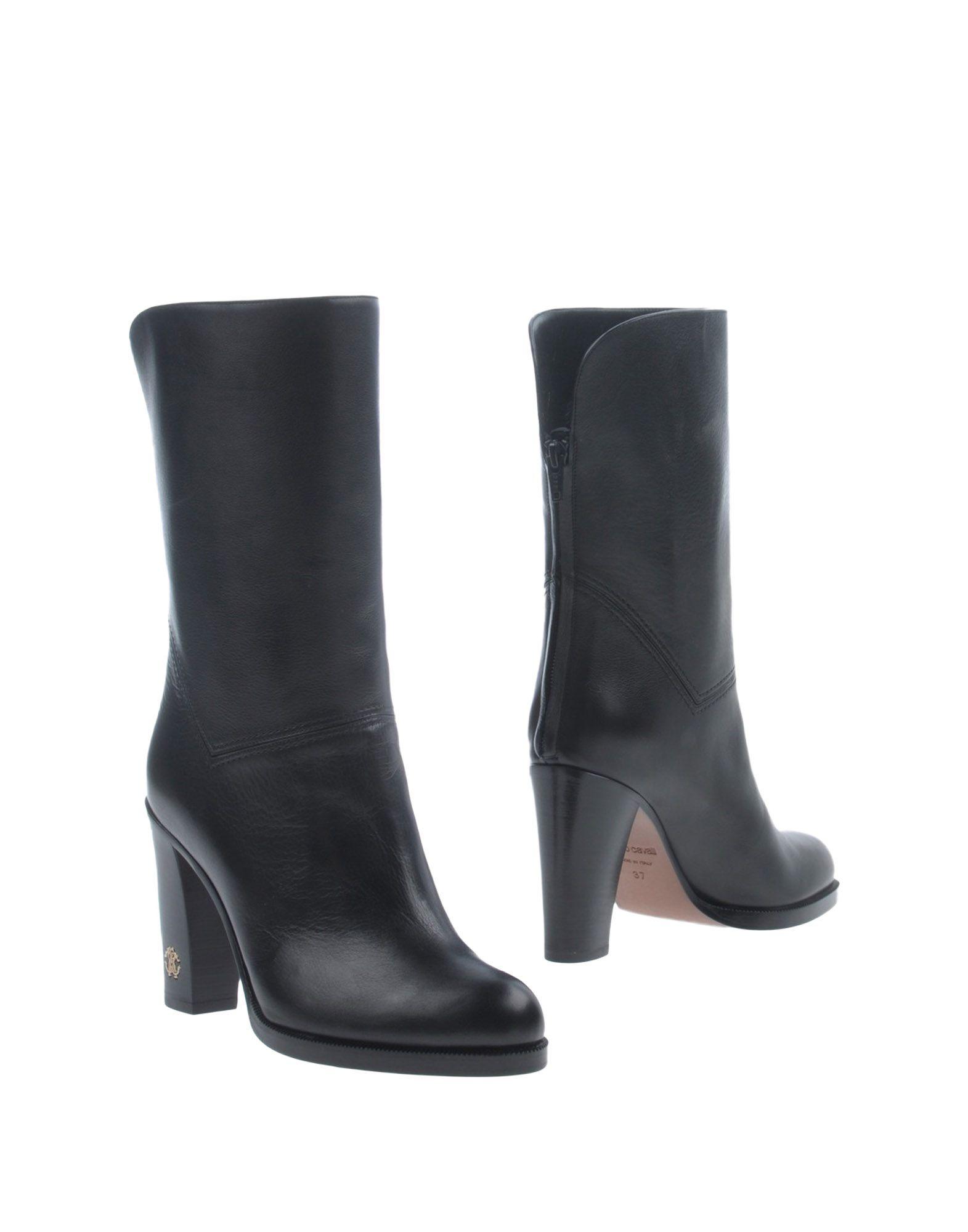 ROBERTO CAVALLI Полусапоги и высокие ботинки just cavalli полусапоги и высокие ботинки
