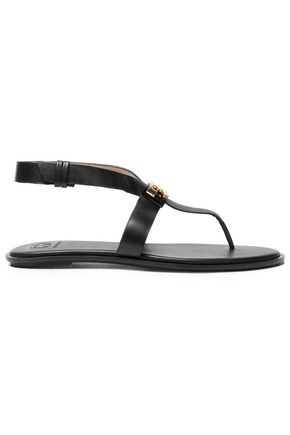 TORY BURCH Embellished leather sandals