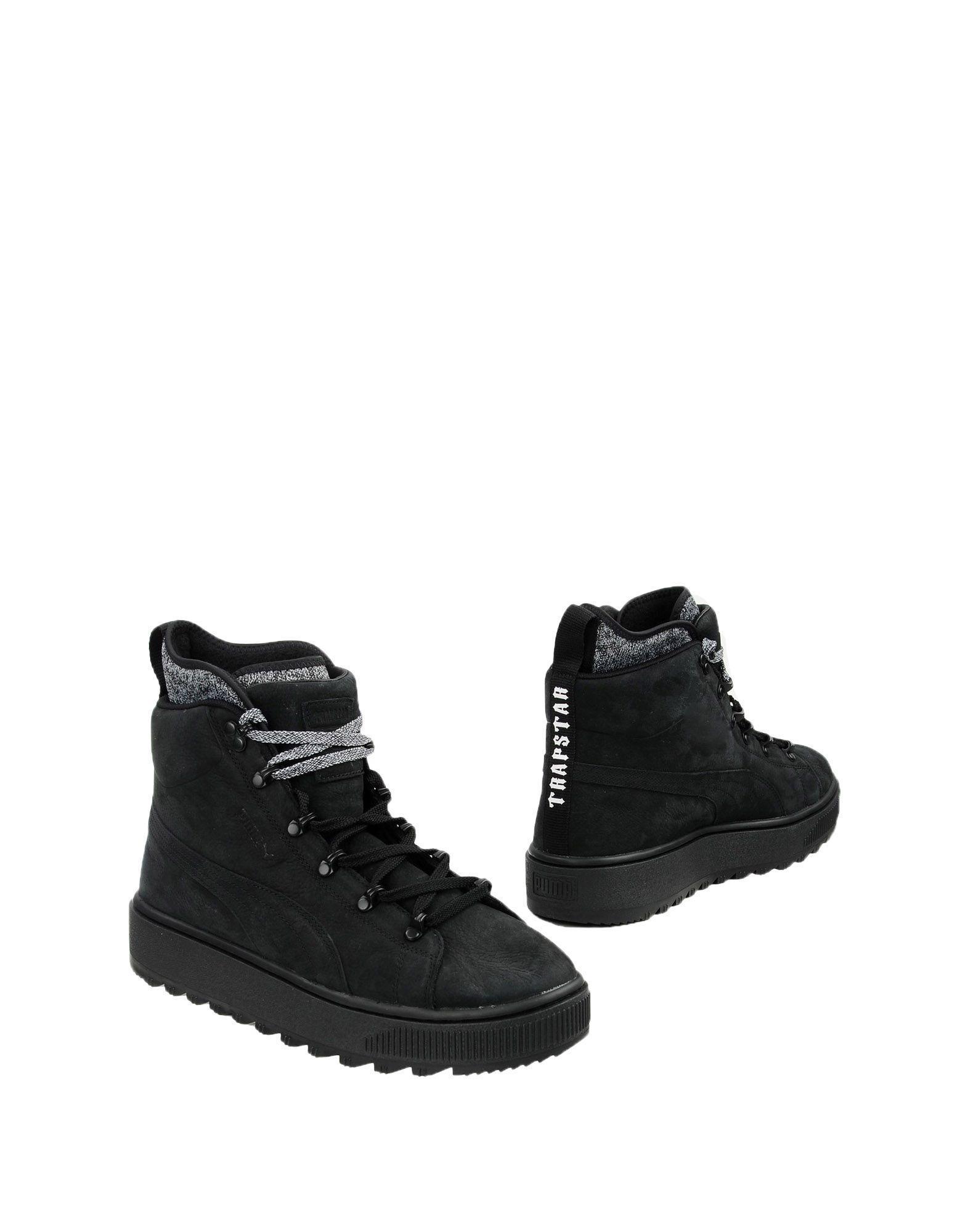 PUMA x TRAPSTAR Полусапоги и высокие ботинки цены онлайн