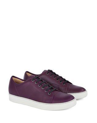 LANVIN DBB1 MATTE CALFSKIN LEATHER SNEAKER Sneakers U r