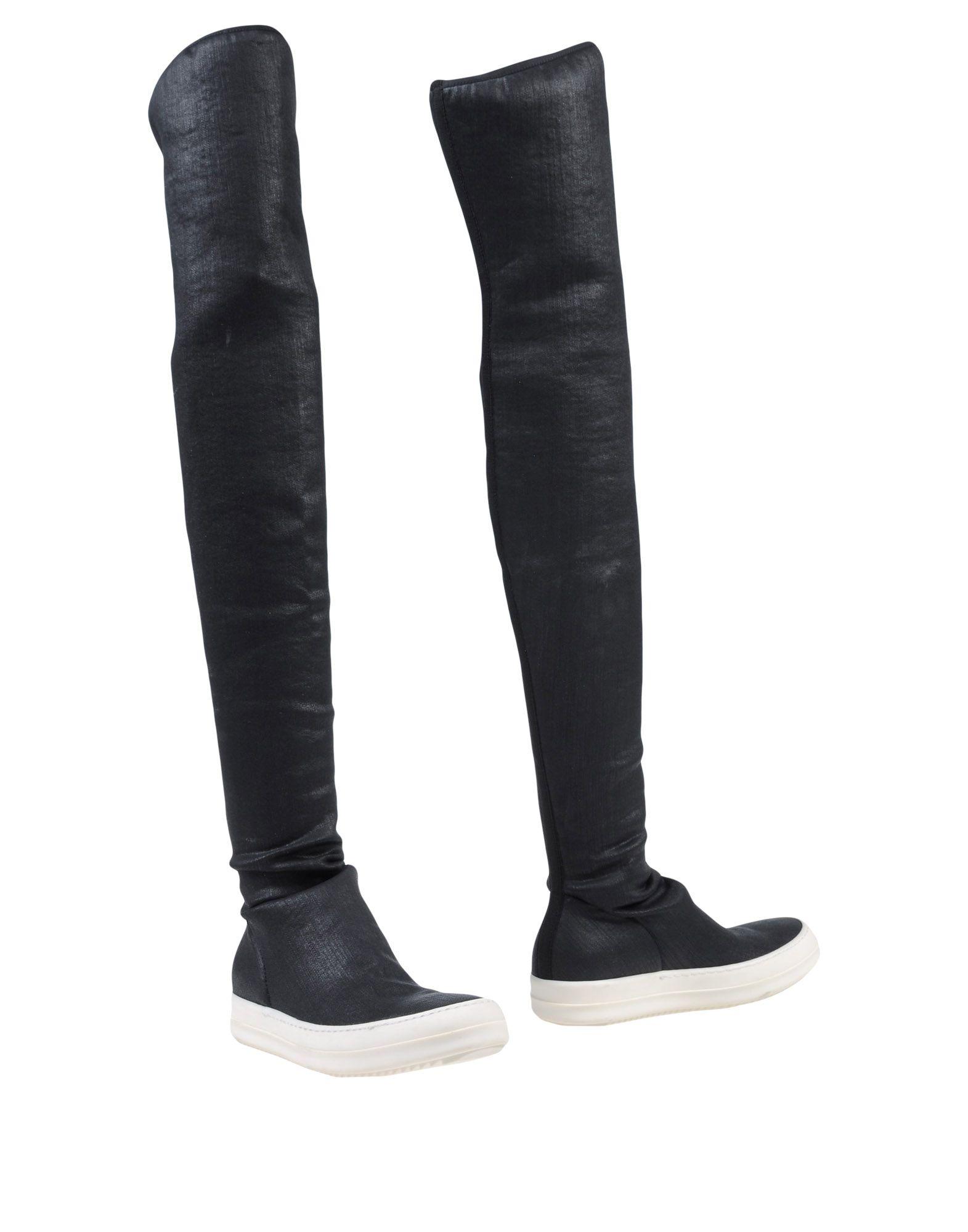 DRKSHDW by RICK OWENS Сапоги exull женские ботфорты сапоги вышеколена с толстым и низким каблуком