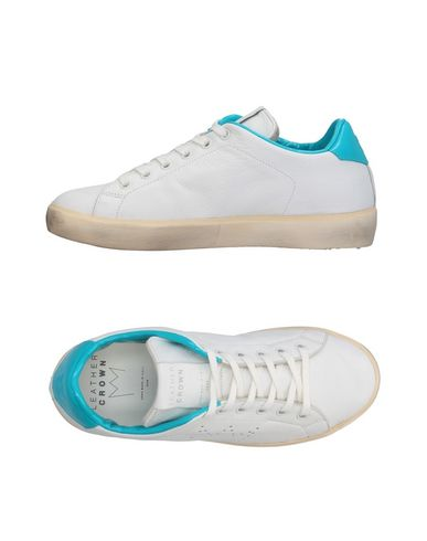 Sneackers Bianco donna LEATHER CROWN Sneakers&Tennis shoes basse donna
