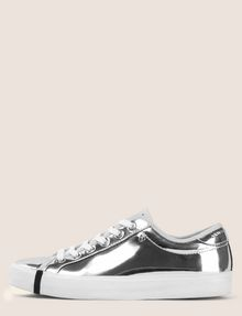 ARMANI EXCHANGE HIGH SHINE METALLIC SNEAKERS Sneaker Woman f