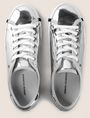 ARMANI EXCHANGE HIGH SHINE METALLIC SNEAKERS Sneaker Woman e