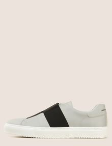 ARMANI EXCHANGE DOUBLE ELASTIC SLIP-ON SNEAKERS Sneakers Man f