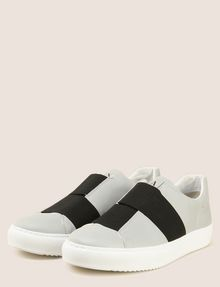 ARMANI EXCHANGE DOUBLE ELASTIC SLIP-ON SNEAKERS Sneaker Man r