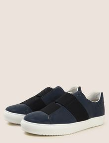 ARMANI EXCHANGE SLIP-ON SNEAKER MIT GUMMISTREIFEN Sneakers Herren r
