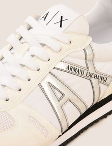 ARMANI EXCHANGE RETRO LOW-TOP SNEAKER MIT LOGO Sneakers Herren a